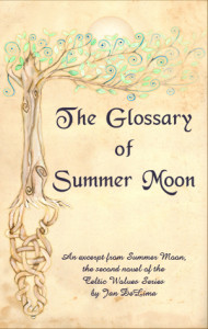 Summer Moon Glossary