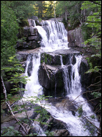 Waterfall on Katahdin